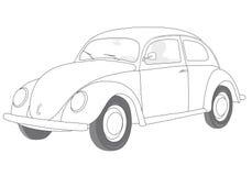 Car (vector). A car (cmyk to rgb Royalty Free Stock Photo