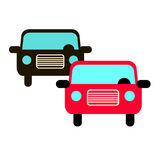 Car vector auto automobile illustration transport vehicle Stock Photography
