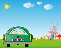 Car Vector Eps8 Stock Images