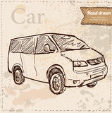 Car vector hand drawn Stock Images