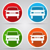 Car Vector Icons Stock Photos