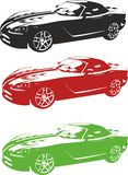 Car. Vector illustration of an car Stock Photography