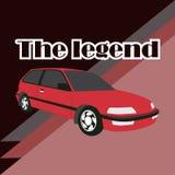 Car vector image design. Car, vector, design, speed, illustration, transport, symbol, auto, transportation, automobile, race, image stock illustration
