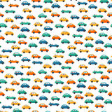 Car vector seamless pattern Stock Photography