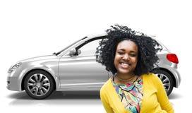 Car Vehicle Hatchback Transportation 3D Illustration Concept Royalty Free Stock Photography