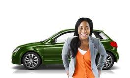 Car Vehicle Hatchback Transportation 3D Illustration Concept Royalty Free Stock Photos