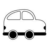 Car vehicle isolated icon Stock Image