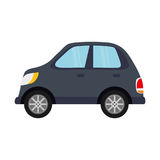 Car vehicle isolated Royalty Free Stock Photography
