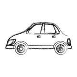 Car vehicle isolated Royalty Free Stock Photo
