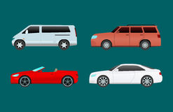 Car vehicle transport type design travel race model sign technology style and generic automobile contemporary kid toy Royalty Free Stock Photo