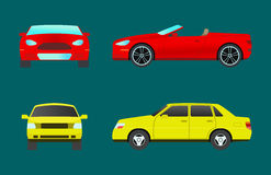 Car vehicle transport type design travel race model sign technology style and generic automobile contemporary kid toy Royalty Free Stock Images