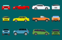Car vehicle transport type design travel race model sign technology style and generic automobile contemporary kid toy Royalty Free Stock Image