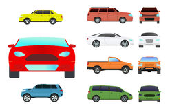 Car vehicle transport type design travel race model sign technology style and generic automobile contemporary kid toy Royalty Free Stock Photos