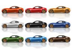 Car Vehicle Transportation 3D Illustration Concept Royalty Free Stock Photos