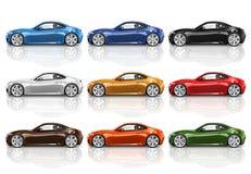 Car Vehicle Transportation 3D Illustration Concept Stock Photography