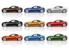 Car Vehicle Transportation 3D Illustration Concept Royalty Free Stock Photography