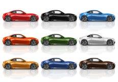 Car Vehicle Transportation 3D Illustration Concept Royalty Free Stock Photo