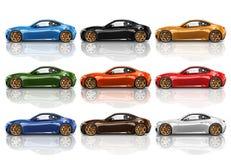Car Vehicle Transportation 3D Illustration Concept Royalty Free Stock Images