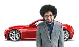 Car Vehicle Transportation 3D Illustration Concept Royalty Free Stock Image