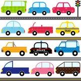 Car / Vehicles / Transportation. A set of cute Vector Icons : Car / Vehicles / Transportation Stock Photo