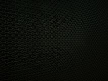 Car ventilation grille background or texture. Wavy Pattern, Metallic black Aluminium Material and Reflections. 3d rendering, 3d illustration Stock Photos