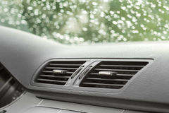 Car ventilation system Royalty Free Stock Photo
