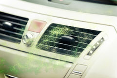 Car ventilation system Royalty Free Stock Images