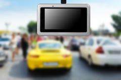 Car video recorder. Stock Photos