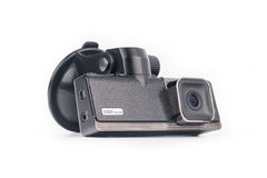 Car video recorder isolated on white Royalty Free Stock Image