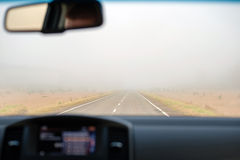 Car view inside Royalty Free Stock Photo