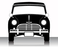 car vintage vektor illustrationer
