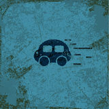 Car vintage abstract grunge background Royalty Free Stock Image