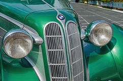 Car vintage green Stock Photos