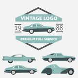 Car Vintage Logo for Your logo - retro logo best for your logo c Stock Image
