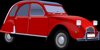 Car, Vintage, Red, Old, Automobile Stock Photo