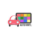 Car vinyl wrapping concept Royalty Free Stock Image