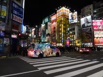 Akihabara Crossing in Tokyo royalty free stock photography