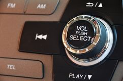 Car Volume Control Stock Image