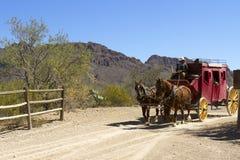 Car Wagon d'étape Photo libre de droits