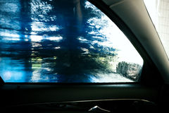 In the car wash Royalty Free Stock Photos
