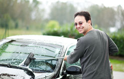 Car wash Royalty Free Stock Image