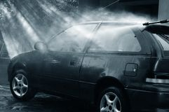 Car wash Royalty Free Stock Image