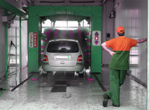 Car wash. Stock Images