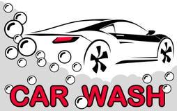 Car wash. Abstract Lines Logo. Vector illustration. Car wash Abstract Lines Logo Vector illustration Stock Photos