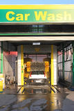 Car wash. Automated car wash service at gas station Stock Images