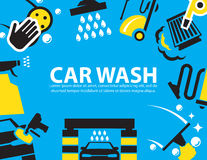 Car wash Background Stock Photo
