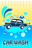 Car Wash Banner Stock Image