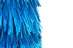 Car wash brushes Royalty Free Stock Images