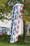 Car Wash. A car wash sign in Atlantic City Royalty Free Stock Photos