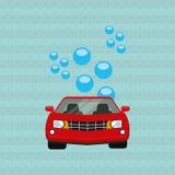 Car wash design. Illustration eps10 graphic Royalty Free Stock Photo